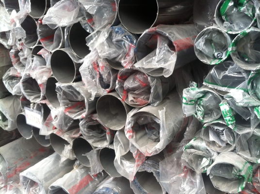 China ASTM A554 A312 A213 A269 Decorative Stainless Steel Welded Pipe High Polished supplier
