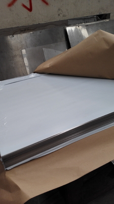 Austenitic Stainless Steel Plates 1.4539 ASTM N08904 904L Hair Line PVC