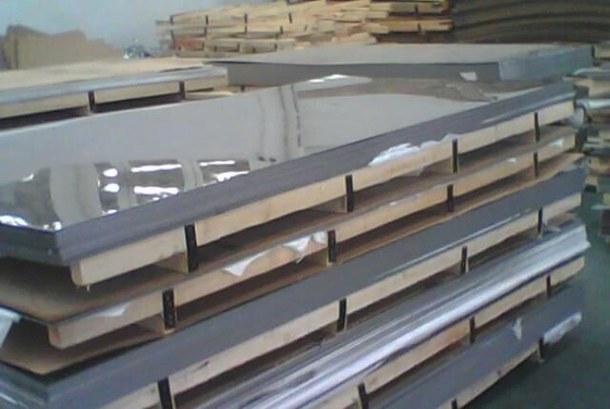 0.4mm 0.5mm 0.6mm Bright Surface Stainless Steel Plates White Or Bright