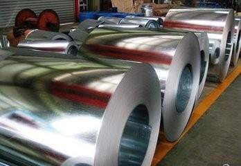 China Zinc Coated Gi 30-275 g/m2 Galvanized Steel Coils Regular Spangle with high quality supplier