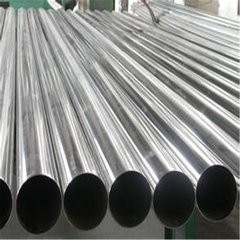 Various Size 201 / 304 Grade Stainless Steel Welded Pipe Round SS Tube for Door
