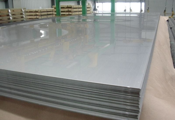 China DIN 1.4462 Duplex Stainless Steel Plates , stainless steel metal sheet Grade 2205 EN10204-3.1 supplier