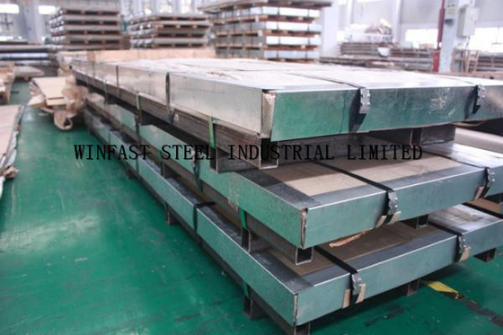China Structure Building Stainless Steel Plates Cold Rolled 304 304l HL 2B Mirror Finished supplier