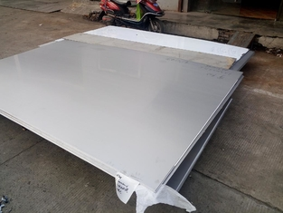China Cold Rolled 304 316L Stainless Steel Sheet / Plate With Thickness 0.4-3.0mm supplier