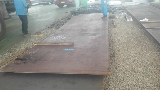 China S355JOWP Corten Steel Sheets Plate Used For Container Red Surface Decorative Panels supplier