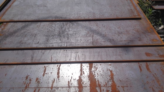 China Weathering Corten Steel Sheet Plate Panels 6mm 09CuPCrNi-A Steel Plate supplier
