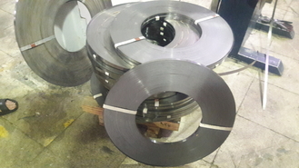 Slit Edge 2B BA Surface 304 201 316L Stainless Steel Strip Coil 0.1mm - 3mm Thickness