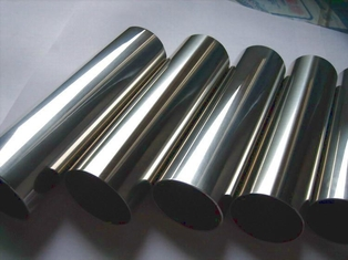 China TP304 Stainless Steel Welded Tube With  Mirror Polish Surface A554 Outside180grits supplier