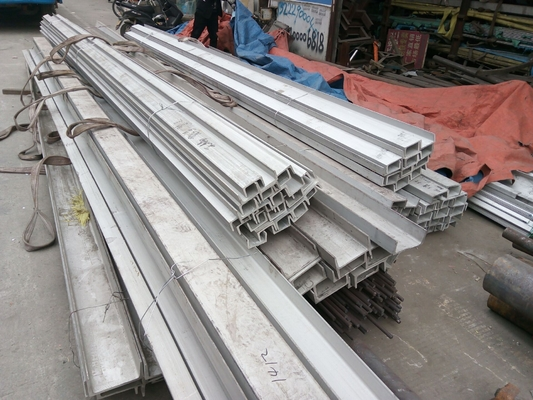 U Shaped Steel Channel Stainless Steel Channel Bar 304 316 316L 321 304l 201 202 301