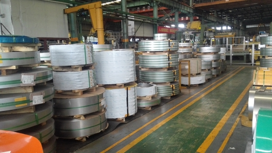 W.-Nr. 1.4120 ( DIN X20CrMo13 ) Cold Rolled Stainless Steel Strips In Coils 0.5-3mm