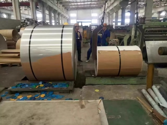 China Hot Rolled And Cold Rolled Stainless Steel Coils 304 301 201 316L 409L 430 supplier