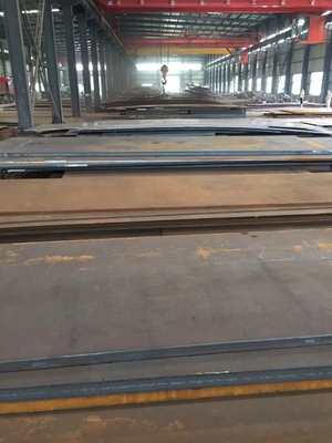 China EN10025 High Strength Low Alloy 355J2+N Alloy Steel Plate 5-100MM 2000*6000 supplier