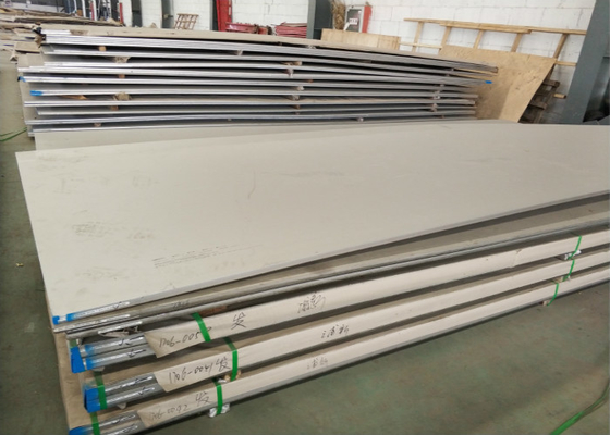 China BA 8K 2205 S32750 Super Duplex Steel Plate / Stainless Steel Sheet supplier