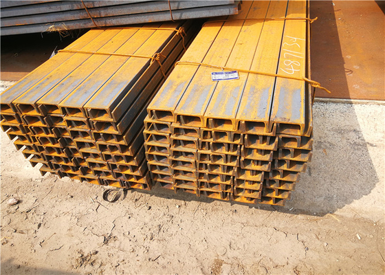 EN BS Hot Rolled Stainless Steel U Channel Q235 GB Sizes 30 x 3 - 150 x 15
