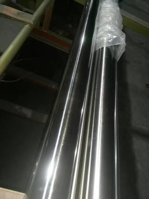 ASTM A270 316L Stainless Steel Round Tube 316L Stainless Steel Sanitary Pipes Mirror Surface