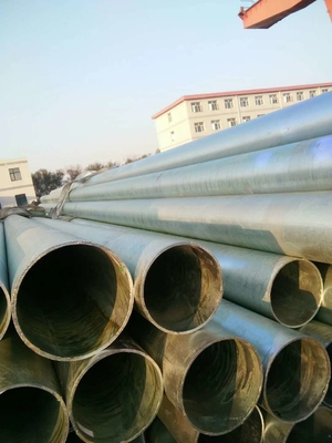 China Astm A53 Standard Bs1139 Hot Dip Galvanized Scaffolding Steel Pipe Round supplier