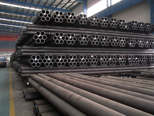 China DIN 2391 ST35 Nbk Cold Drawn Seamless Steel Pipe Black Annealed supplier