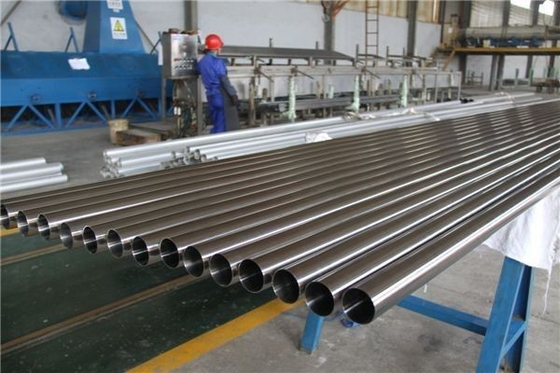 Polished Welded Stainless Steel Pipes 410 446 0.1mm - 3.0mm Thickness