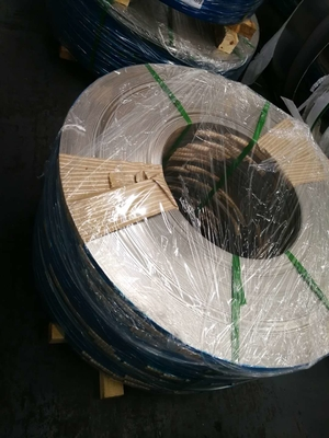 China Inconel Alloy Stainless Steel Coils , Inconel 625 Strip Bright Annealed 0.38*205mm supplier