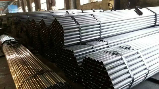 ERW Carbon Steel Pipe Application Automobile , Welded Steel Tube ST37
