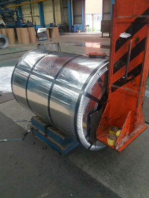 Hot Dipped Galvanized Steel Coils , GI Silted Steel Coil 0.95 Mm THK X 182mm WD G-550 Z-275