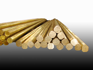 SGS Square Brass Rod , Hexagonal Brass Rod C3602 C3603 C3604 C3605 C3712 C3771
