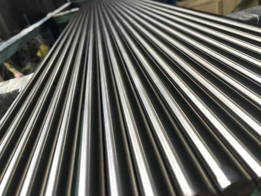 China Ss 303 Bright Steel Round Bar Stock Ground Finish 100% Ultrasonic Ok supplier