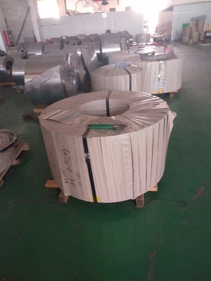 Cold Rolled & Soft Condition Steel Strips Size 0.25mm Thick and Width 8.50mm Turbine Rotor Shaft