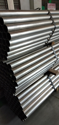 China SUH 409L Stainless Steel Welded Pipe , Stainless Steel Exhaust Tubing supplier