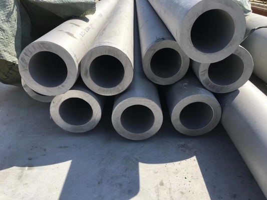 China ASTM A269 254SMO Stainless Steel Seamless Tubes S31254 Pipe Fittings 254 SMO Tubing supplier