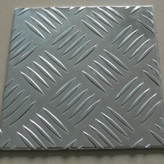 Tread Aluminum Sheet 5 Small Bar 1050 H244 Paper Interleave Aluminum Checkered Plate