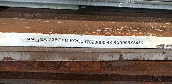 Asme SA 387 Grade 11 Class 2 Steel Plate For Pressure Vessels , SGS ISO