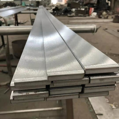 Long SS 316 Brushed Finish Stainless Steel Flat Bar TP316L Metal Flat Bar