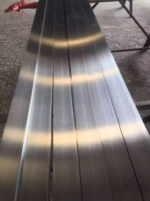 316L Stainless Steel Flat Bar Brush Finished ASTM A276 SS Flat Plate Stright