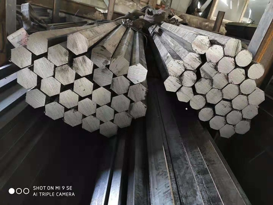 ASTM A1045 S45C Hexagonal Bar , Structural Steel Bar Quenched And Tempered