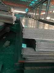 EN10025 S355JR Mild Flat Steel Plate For Cutting / Bending / Drilling Hole Processing