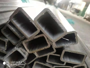 SS 310S Stainless Steel Rectangular Pipe 100*50*4mm High Temperature Resistant