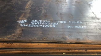 EH36 CCS LR GL High Strength Steel Plate EH36 Shipbuilding Steel Plate 3-150mm