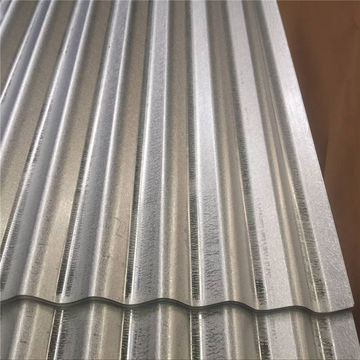 Dipped Galvanized Corrugated Sheet As Per JIS G3302 SGCH Regular Spangle Chromated