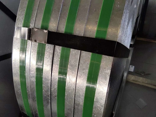 600mm - 1250mm Z275 Q550 Galvanized Cold Rolled Strip 30-275g / M2 Zinc Coating