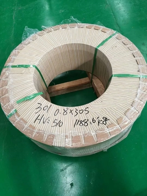 SUS 301 Stainless Steel Strip Coil for Springs 1/2 Hard 3/4H Full Hard