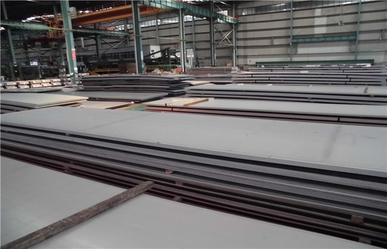 China Duplex stainless steel plate 2507 , super duplex SS 2507 plate 2B NO.1 surface supplier
