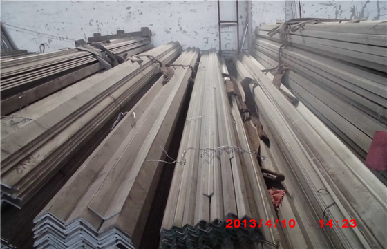 Sus304 Stainless Steel Angle Bar 10mm - 300mm OD