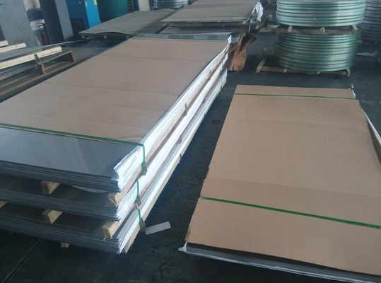 China 2B Finished Cold Rolled Steel Sheet With Paper 2B Surface 317L Ss Sheet supplier