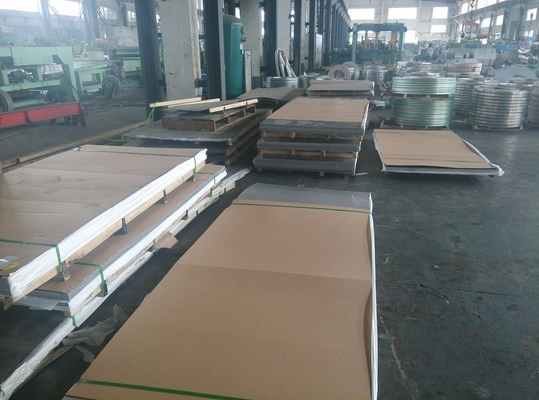 China 202 Cold Rolled Stainless Steel Sheet Stock 2B Surface 0.5 - 3mm Thick 1219x2438mm supplier