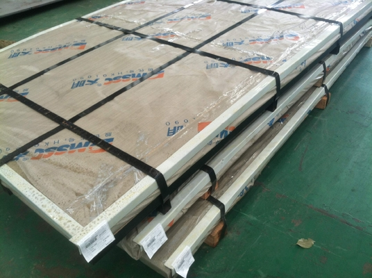 China DIN 1.4462 grade alloy 2205 duplex steel plates , Hot Rolled SS Plate supplier
