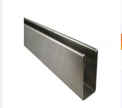 Hot Rolled 201 Stainless Steel Channel Bar Metal U