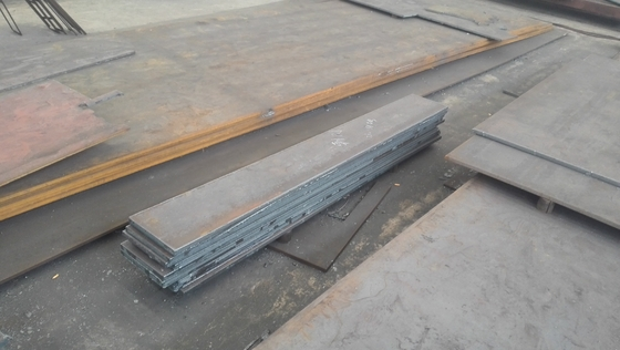 GB Q345 Hot Rolled Froged Low Alloy Carbon Steel Plate , Hot Rolled Steel Plate