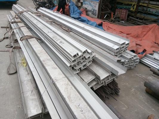 U Shaped Steel Channel Stainless Steel Channel Bar 304 316 316L 321 304l 201 202 301