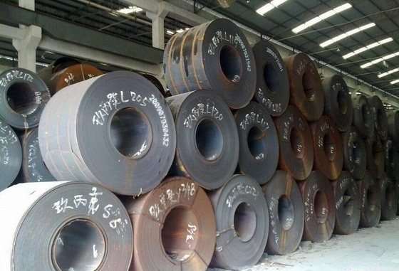 A36 Hot Rolled Mild Carbon Steel Plate For Ship Building , Steel Sheet Coil